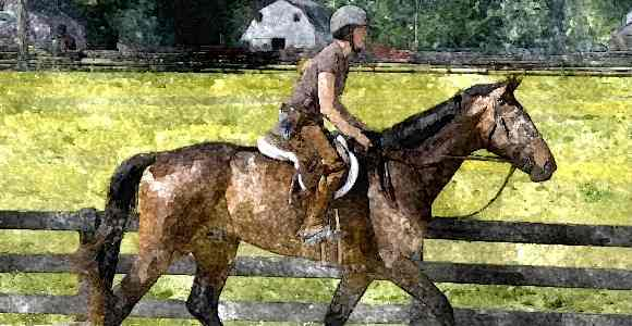 hobby for women horseback riding