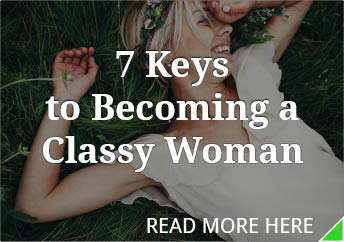 How to be a classy lady in a relationship